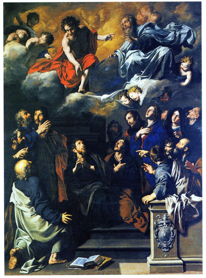 Elezione di Mattia all'apostolato