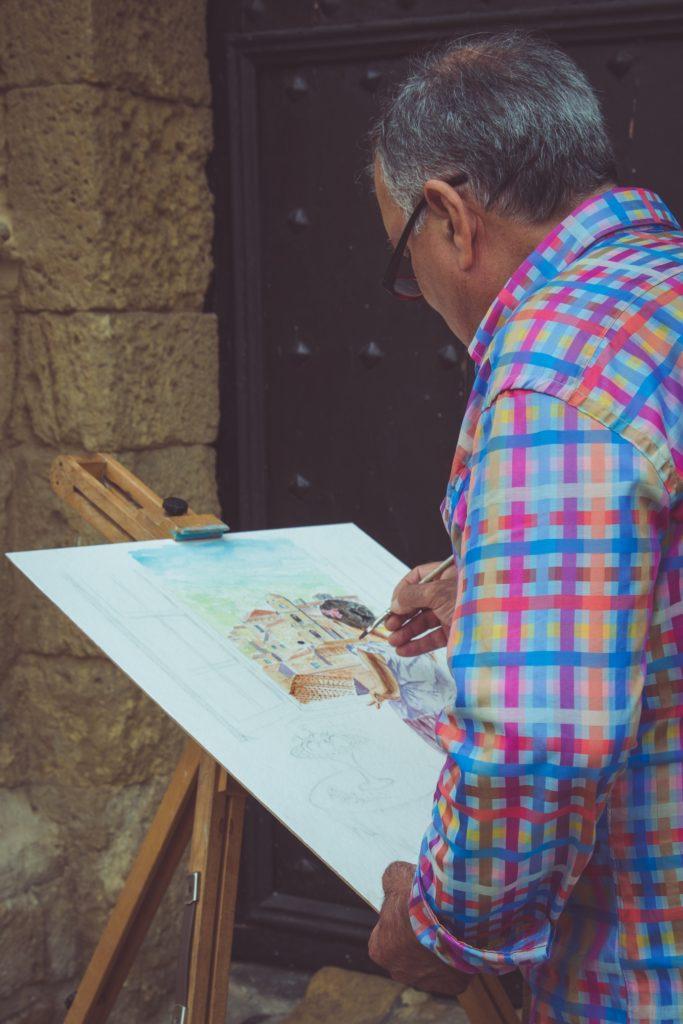 Vincitori del XXXV concorso di pittura estemporanea